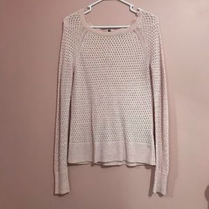 Pink Knit long sleeved sweater